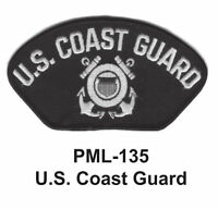 4 INCH- U.S. COAST GUARD Embroidered Military Large Patch