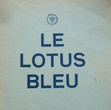 REVUE THEOSOPHIQUE LE LOTUS BLEU 1966 No 1 BLAVATSKY ASTROLOGIE SCIENCE OCCULTE