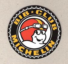 Bib Club Michelin Sticker, Bibendum, Michelin Man, Bike, Sports Car Racing Decal