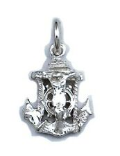 Jesus Crucifix Anchor Small Pendant Sterling Silver 925 Best Deal Jewelry Gift