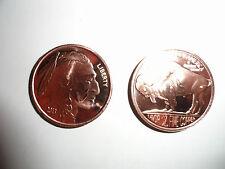 Collectors One Avdp Ounce .999 Pure Fine Copper 2013 Buffalo Round Tribute Coin