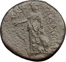 Sardes in Asia Minor 2nd century BC Ancient Greek Coin Athena Artemis  i31841