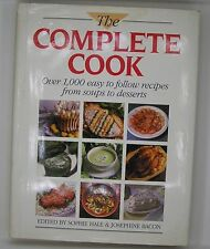 THE COMPLETE COOK Sophie Hale & Josephine Bacon hc book