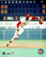 BOB GIBSON 8X10 PHOTO ST LOUIS CARDINALS *LICENSED*  ACTION PHOTO