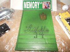 Original 1954 Mattoon High School Yearbook/Annual/Journal/M attoon, Illinois