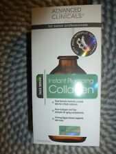ADVANCED CLINICALS~~INSTANT PLUMPING COLLAGEN~~ FOR YOUR FACE 1.75 OZ NIB
