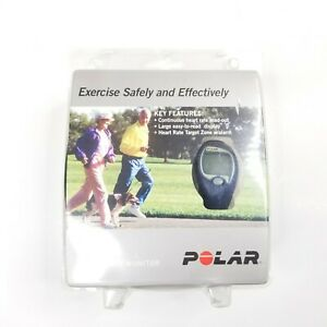 Polar FS1 Fitness Monitor Watch With Heart Rate Tracker NEW SEALED Dark Blue