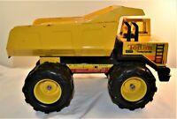 Vintage Yellow Metal Tonka Dump Truck Turbo Diesel 54782