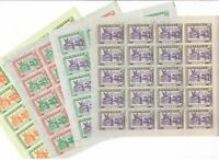 S31717) Guinea MNH New 1965 World Expo 4v Full Sheet