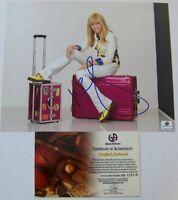 CLEARANCE SALE! Miley Cyrus Signed Autographed 8x10 Photo Global GAI GA GV COA