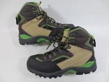Trekking Schuhe Stiefel HEAD Schnür Boots DuraPlus 41 7 Leder Mix grau NEU /1