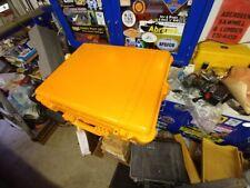 Used Pelican Orange 1600 Storage Case for camera equip, emergency supplies, gun