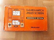 BOX DONKEY KONG NINTENDO GAME & WATCH PAL DK-52 GAME&WATCH AND DK 52 DK52 CAJA