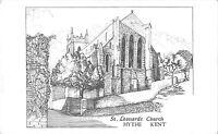 BR67970 st leonards church hythe kent   postcard  uk
