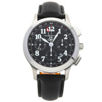 Schwarz Etienne Olympia Chrono GMT Steel Auto Mens Watch Strap WOL10AI01SS02AAA
