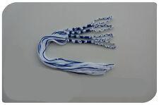 TZIT TZIT BLUE & WHITE - MESSIANIC  TZITZIT  TZITZIOT Braided Loop, USA made