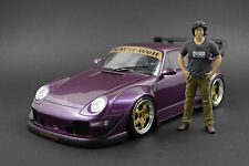 Akira Nakai-San Figur für 1:18 AutoArt Porsche RWB 964 993