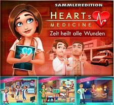 ⭐️ Heart's Medicine 2 - Zeit heilt alle Wunden - Sammleredition - PC / Windows ⭐