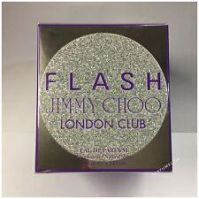 JIMMY CHOO FLASH LONDON (CLUB )100ml EDP Spray Women's Perfume New IN SEALED BOX
