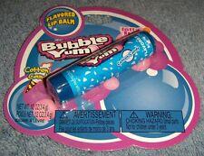 Bubble Yum Cotton Candy Flavored Lip Balm New