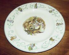 Wedgewood Peter Rabbit Plate N 526 Made in England Frederick Warne & Co