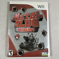 Metal Slug Anthology Nintendo Wii Complete with Disc Case and Manual