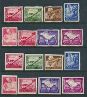 Stamp Germany India Selection 1943 WWII War Azad Hind Legion Selection MNG 2