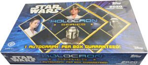 Topps 2020 Star Wars Holocron Series Factory Sealed Hobby Card Box