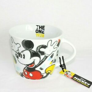 DISNEY Kaffeebecher * MICKEY MOUSE handsome * Kaffeetasse Teetasse Pott Keramik