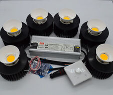 CXB3590 300w DIY Grow Light with CXB3590 35G CD DB BIN and  reflecter solution