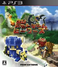 USED PS3 3D Dot Game Heroes game soft //