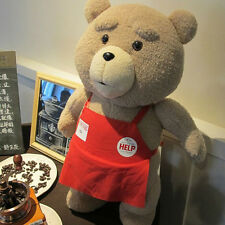 """New Ted 2 Movie TED the Bear Red Apron PLUSH Doll Soft Toy 18"""" Cute"""