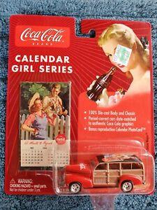 Johnny Lightning Calendar Girl Series #11 '41 Chevy Special Deluxe Wagon NIB!