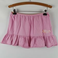 Roxy Mini Skirt Pink Soft Cotton Beach Size Large L
