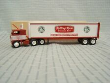 Winross Rolling Rock tractor trailer Red 1:64 White 7000 Cab Near Mint 1981