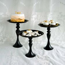 Black Vintage Iron Wedding Cupcake Stand Cake Dessert Holder Display Party