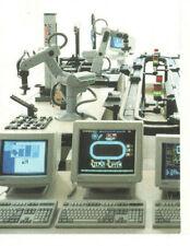 Vintage 1990s Eshed Robotec Robot Brochure Scaravisionassemblycimscorbot