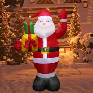 5 FT Christmas Inflatable Air Blown Santa Claus Indoor / Outdoor Yard Light Up