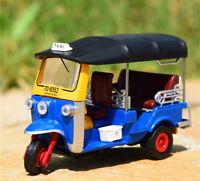 LEO 1:43 TUK TUK Bangkok 1980 TAXI Alloy Static Car Model Boys Toys Vehicles