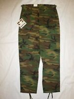 ARMY Woodland Uniform Pants 100% Cotton Heavy New Small Regular PROPPER NWT #14