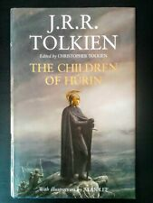 The Children of Hurin by JRR Tolkien, Epic High Fantasy, Hardback, Illustrated