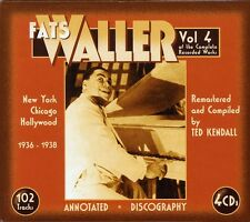 Vol. 4-Of The Complete Recorded Works - Fats Waller (2008, CD NEUF)