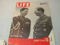 Vintage Life MagazineFeb 19th 1940, Romanian royalty, Taft, G Wood Washinton  DS