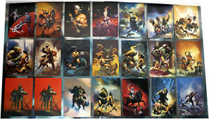 Mixed Lot, 21 x 1992 Ken Kelly FPG Collector Cards, Fantasy Images