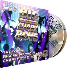 Chart Boys Karaoke. Mr Entertainer Big Hits Double CD+G/CDG Disc Set. Male
