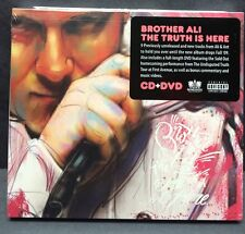 Brother Ali-The Truth Is Here CD with DVD NEW Rhymesayers