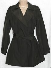 Women's Cotton Blend No Pattern None Trench Coats, Macs Coats & Jackets