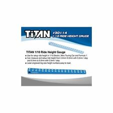 Team Titan Bodenfreiheitslehre Ride Height Gauge