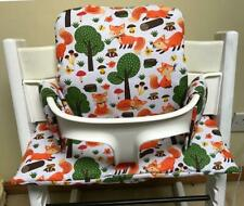 Cushion to fit Stokke Tripp Trapp High Foxes in the forest BNIB