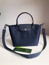 New Authentic Longchamp Le Pliage Neo 1512 Strap Handbag - Size Small - Navy